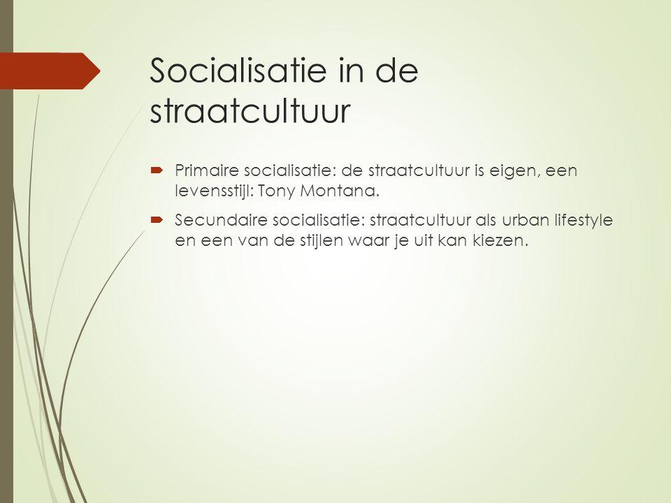 Socialisatie in de straatcultuur