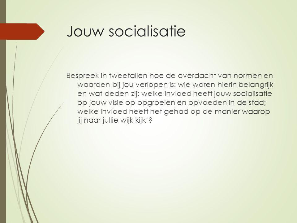 Jouw socialisatie