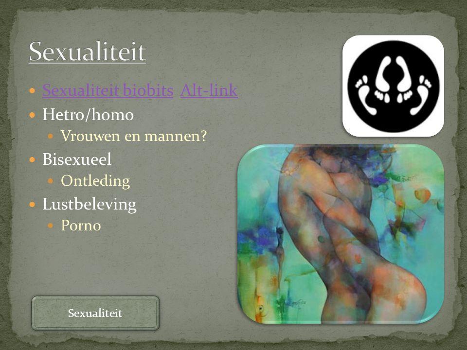 Sexualiteit Sexualiteit biobits Alt-link Hetro/homo Bisexueel