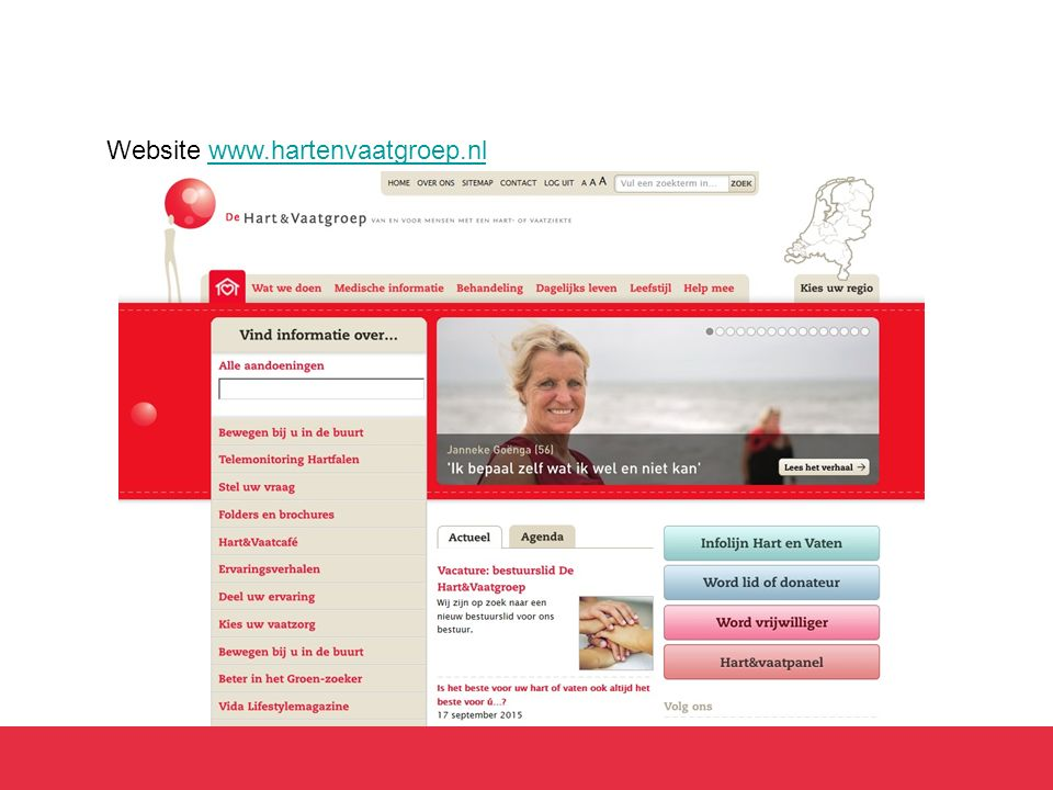 Website www.hartenvaatgroep.nl