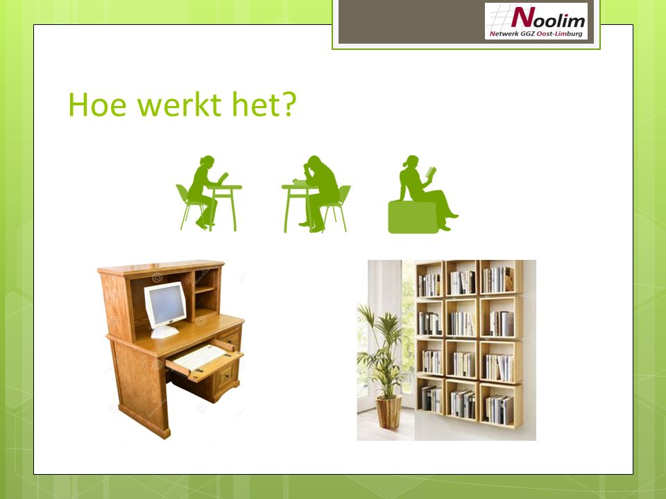 Hoe werkt het Alemaal in diene fauteuil.