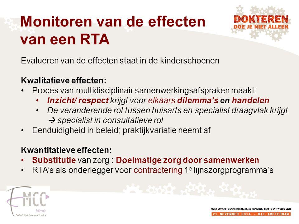 Monitoren van de effecten van een RTA