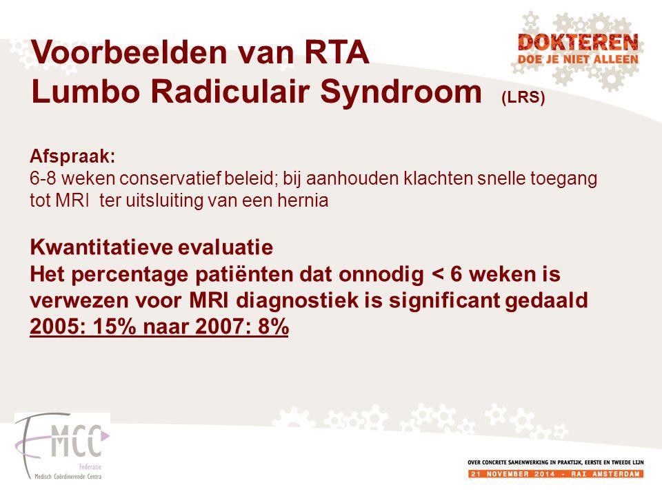 Lumbo Radiculair Syndroom (LRS)