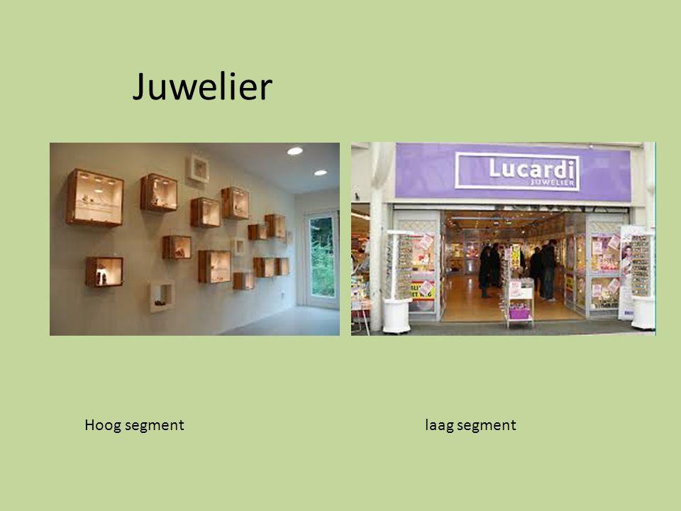 Juwelier Hoog segment laag segment