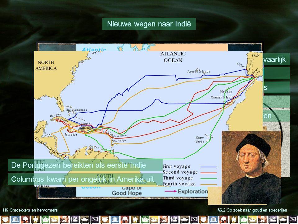 Nieuwe wegen naar Indië