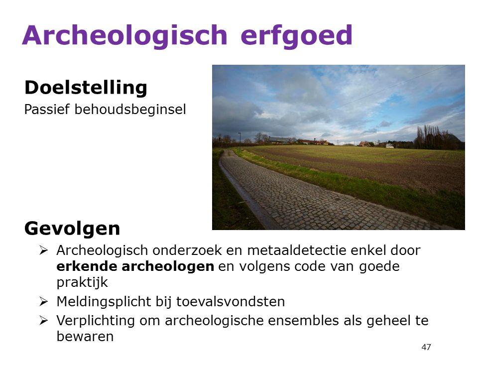 Archeologisch erfgoed