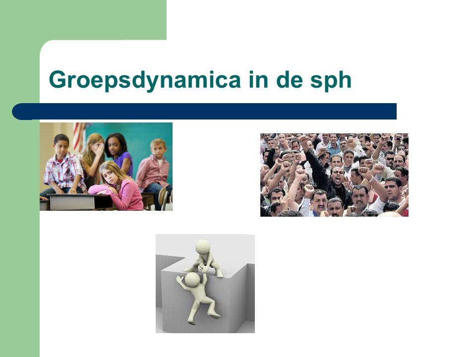 Groepsdynamica in de sph