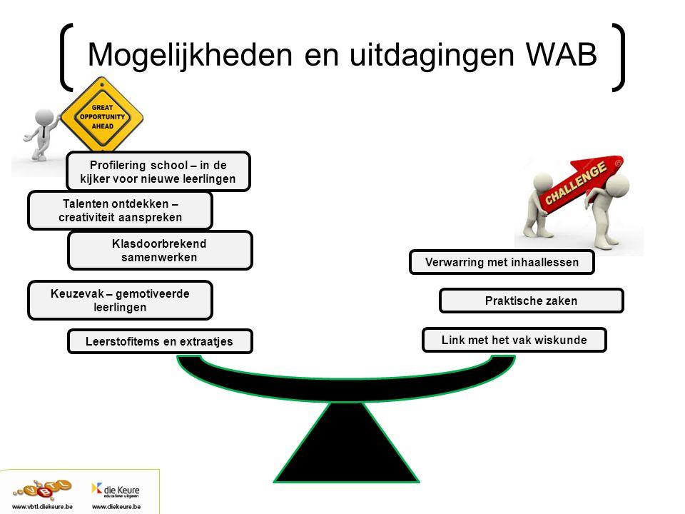 Mogelijkheden en uitdagingen WAB