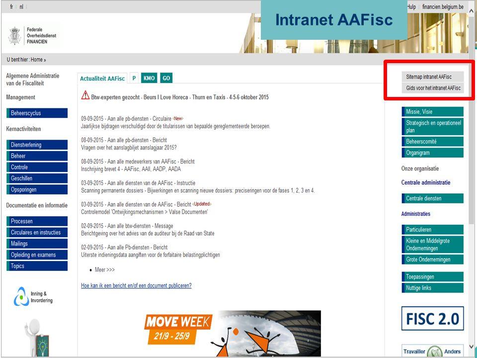 Intranet AAFisc
