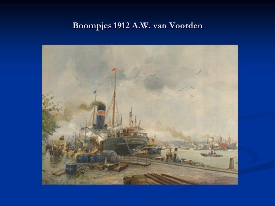 Boompjes 1912 A.W. van Voorden