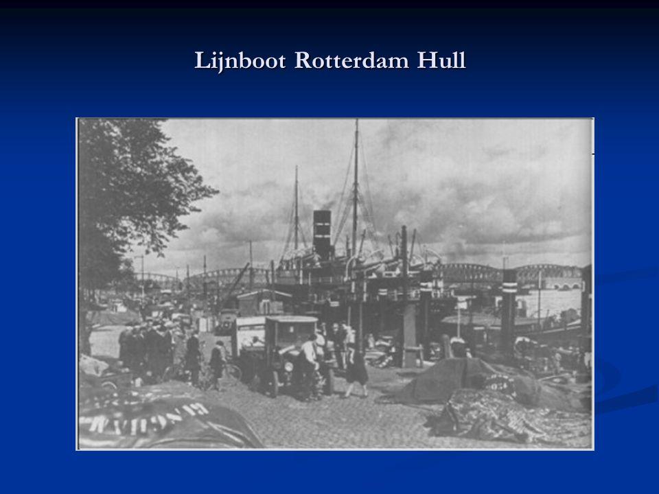 Lijnboot Rotterdam Hull