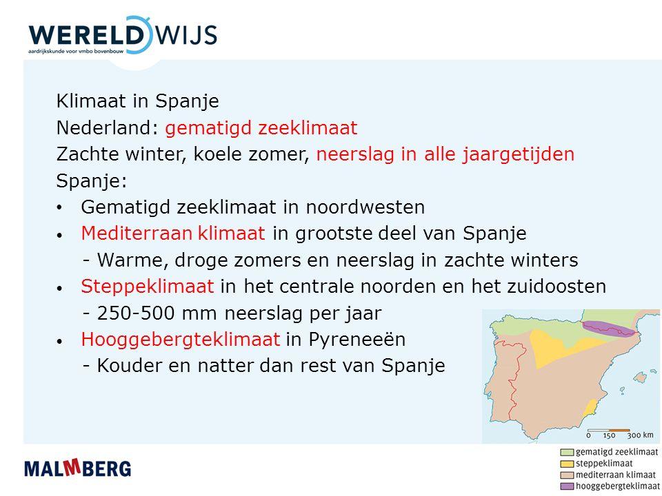 Nederland: gematigd zeeklimaat