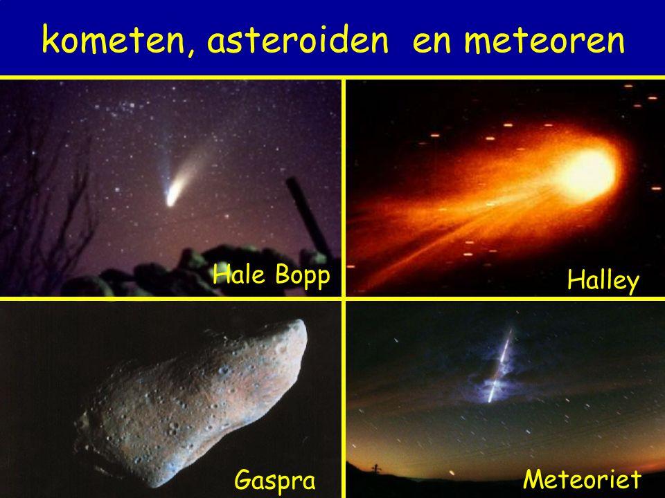 kometen, asteroiden en meteoren