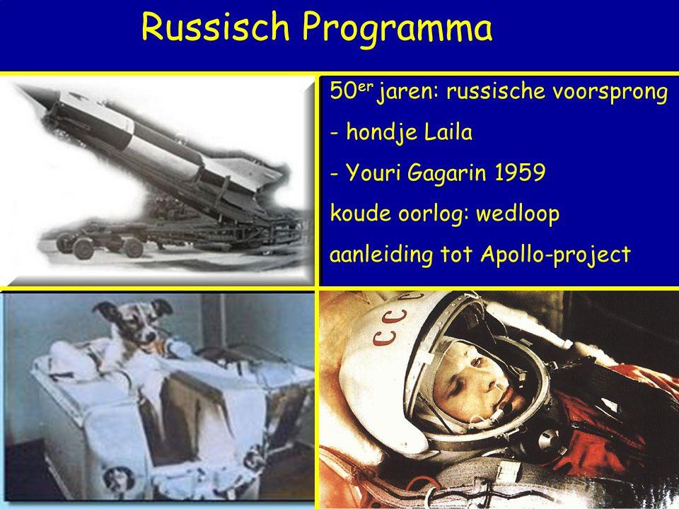 Russisch Programma 50er jaren: russische voorsprong - hondje Laila