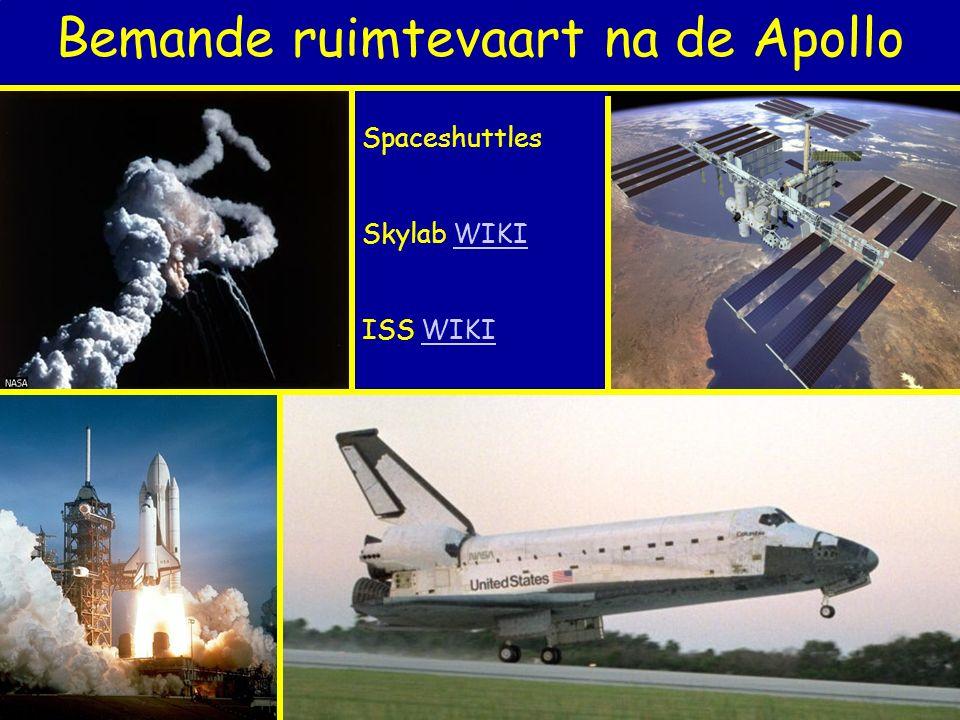 Bemande ruimtevaart na de Apollo