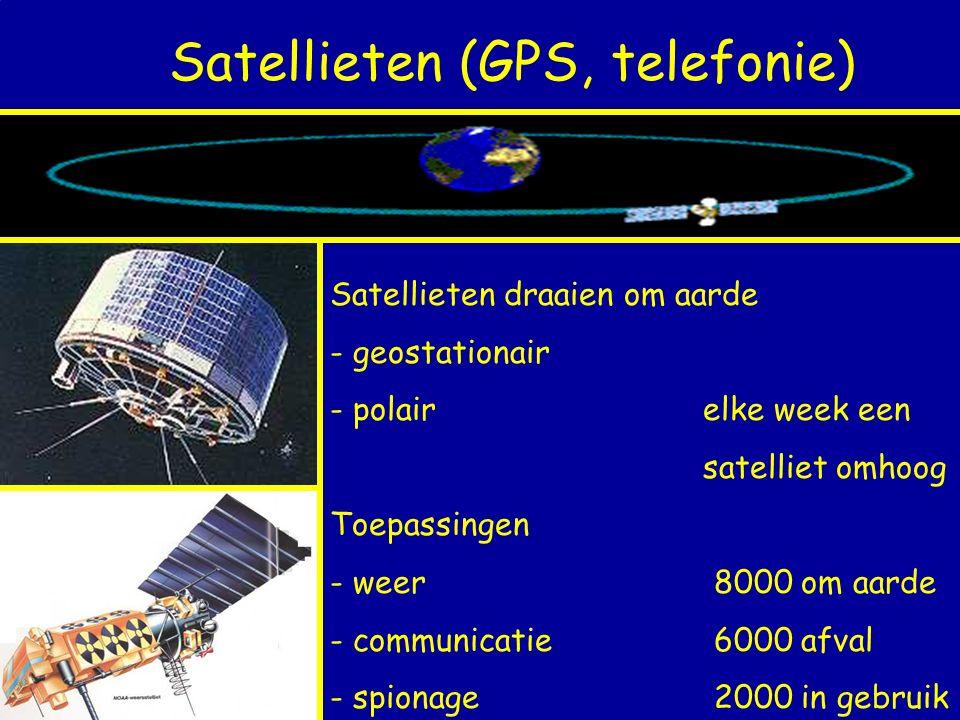 Satellieten (GPS, telefonie)