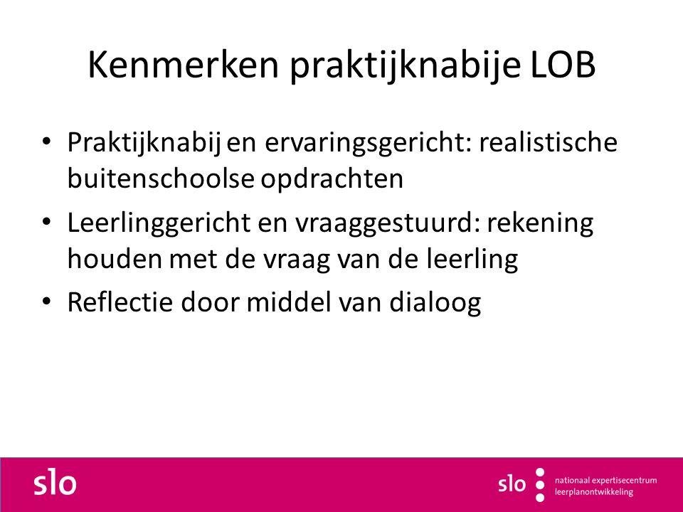 Kenmerken praktijknabije LOB
