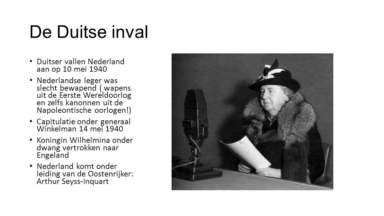 De Duitse inval Duitser vallen Nederland aan op 10 mei 1940