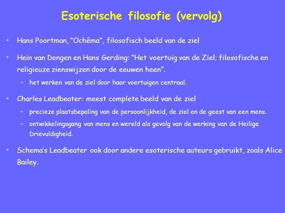 Esoterische filosofie (vervolg)