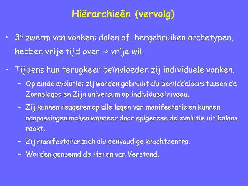 Hiërarchieën (vervolg)