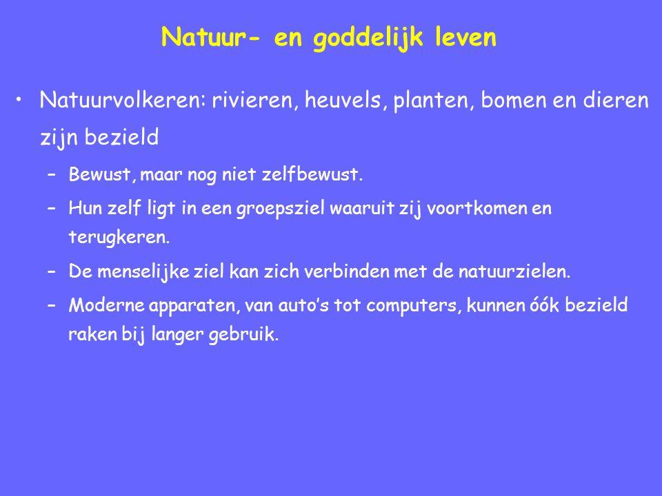 Natuur- en goddelijk leven