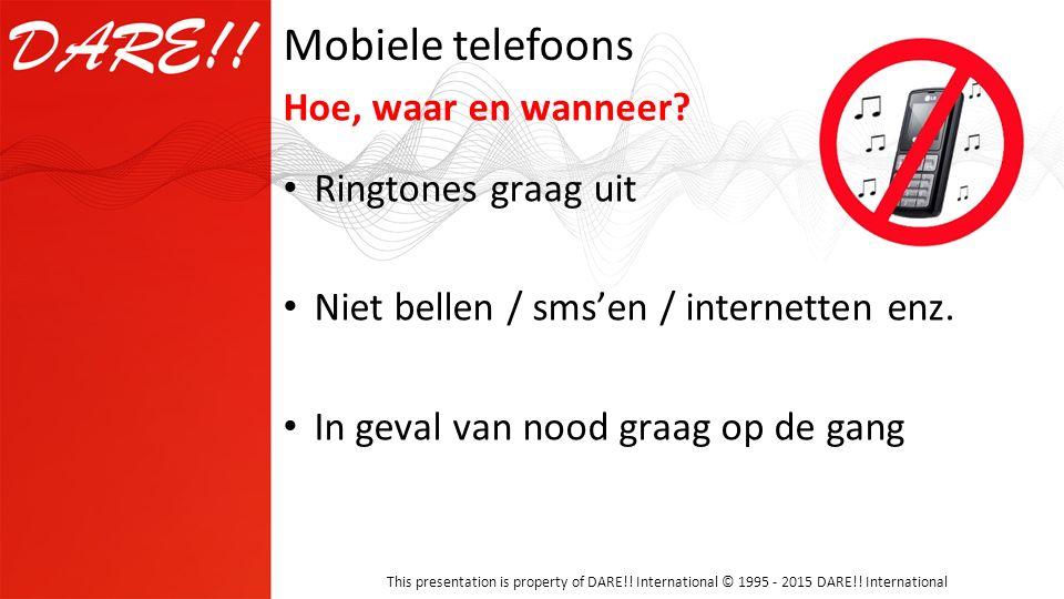 Mobiele telefoons Hoe, waar en wanneer Ringtones graag uit