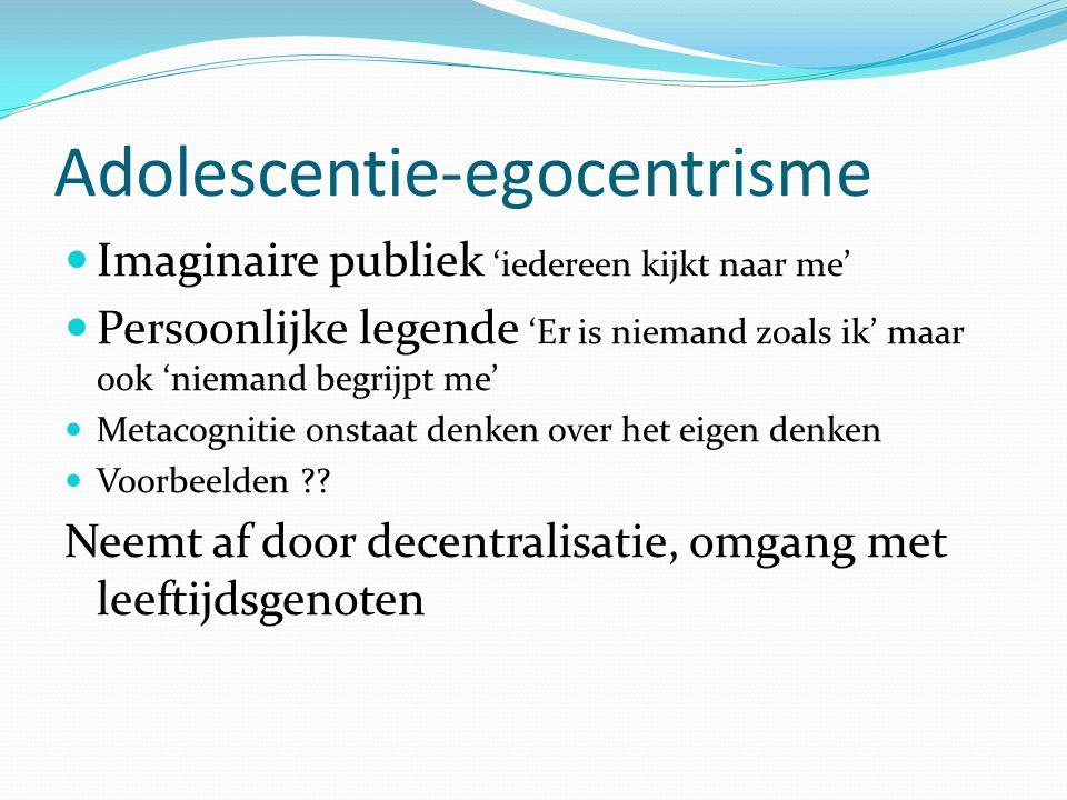 Adolescentie-egocentrisme