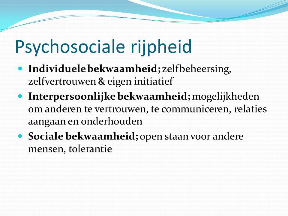 Psychosociale rijpheid