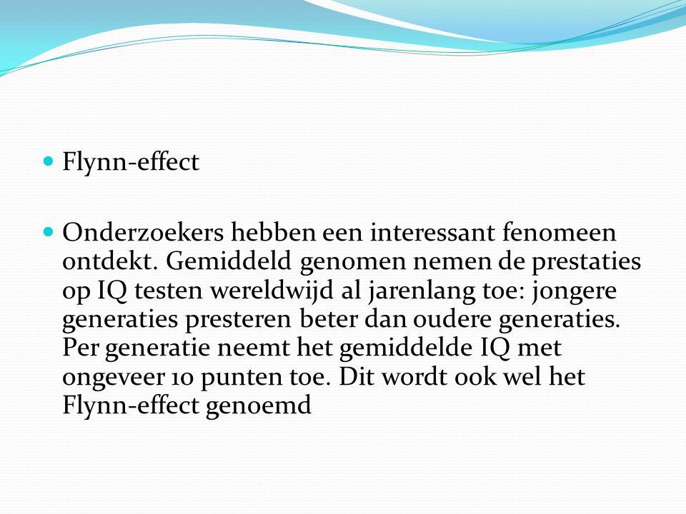 Flynn-effect
