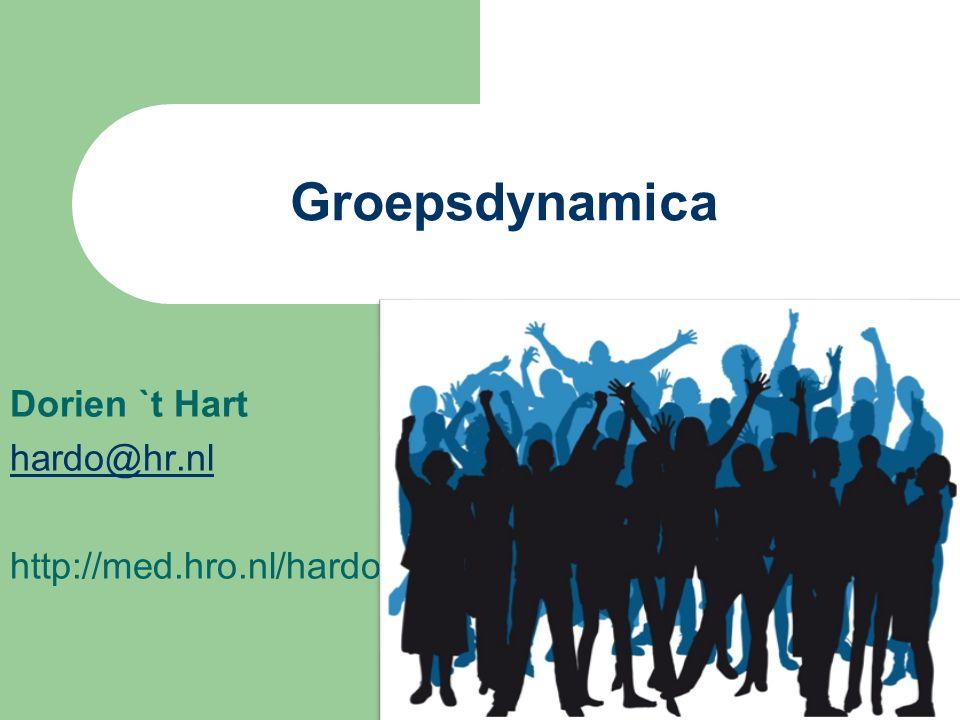 Dorien `t Hart hardo@hr.nl http://med.hro.nl/hardo