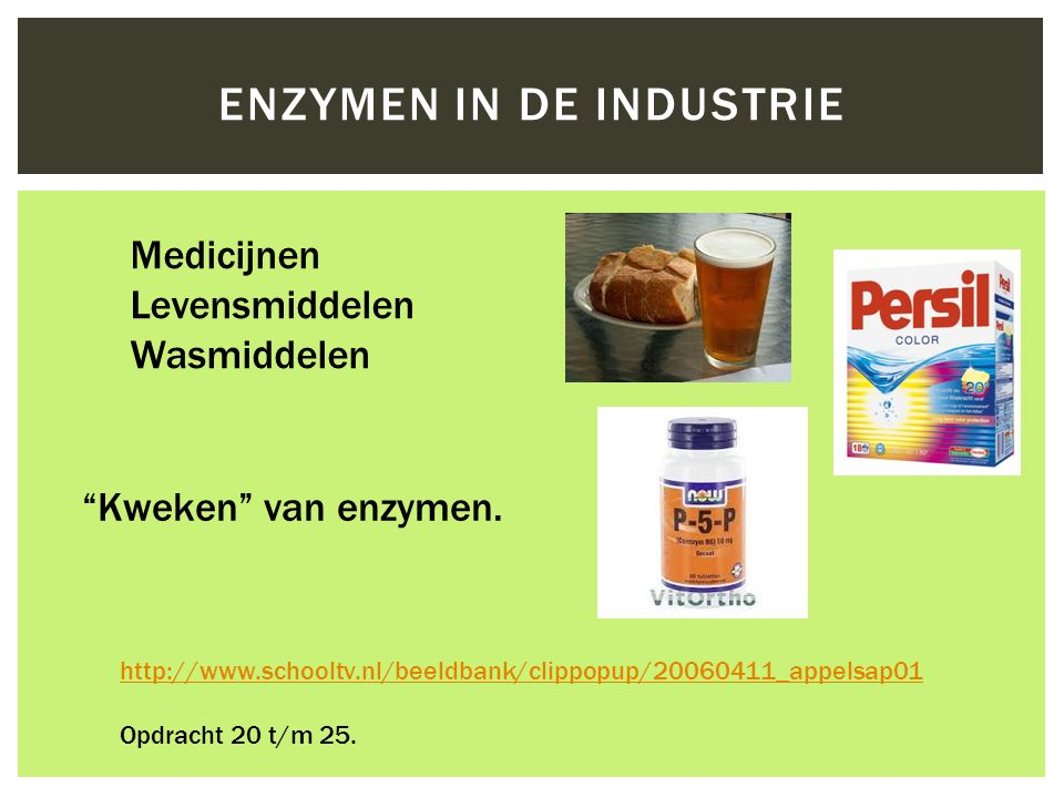 Enzymen in de industrie