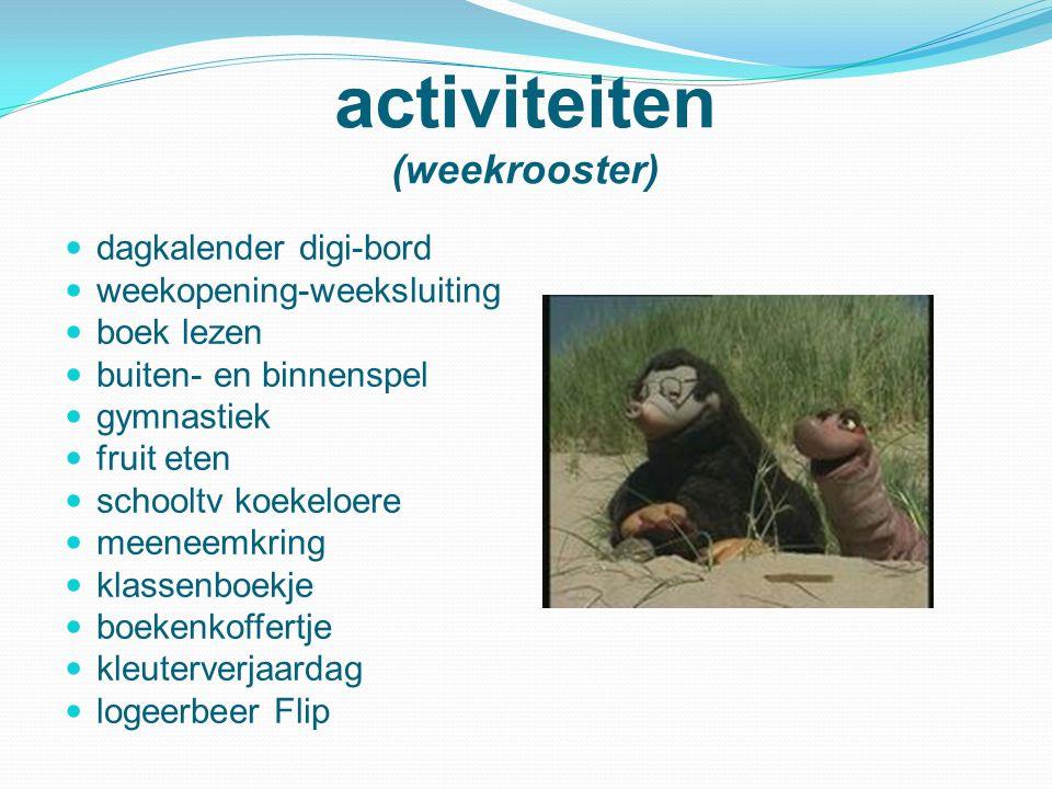 activiteiten (weekrooster)