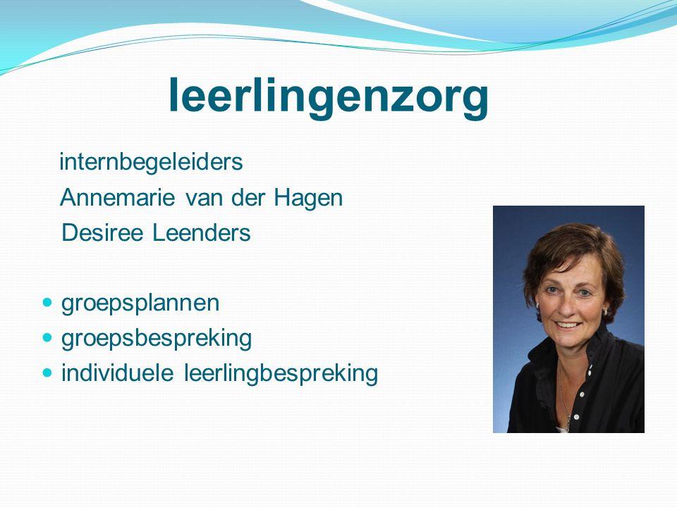 leerlingenzorg internbegeleiders Annemarie van der Hagen