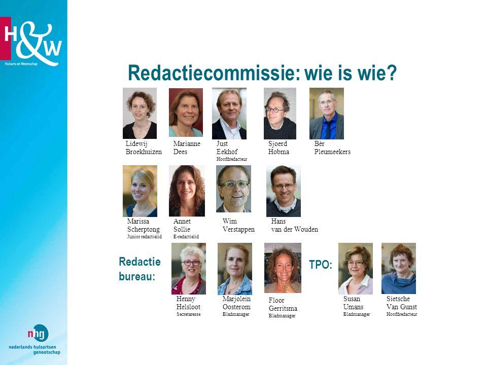 Redactiecommissie: wie is wie