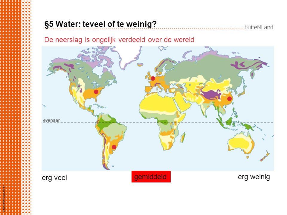 §5 Water: teveel of te weinig