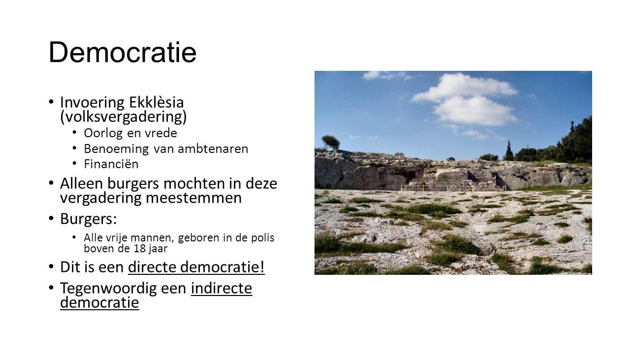 Democratie Invoering Ekklèsia (volksvergadering)