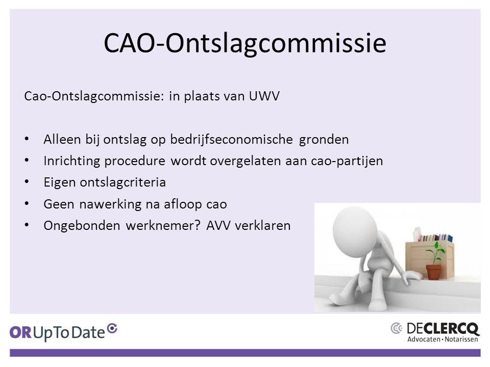 CAO-Ontslagcommissie