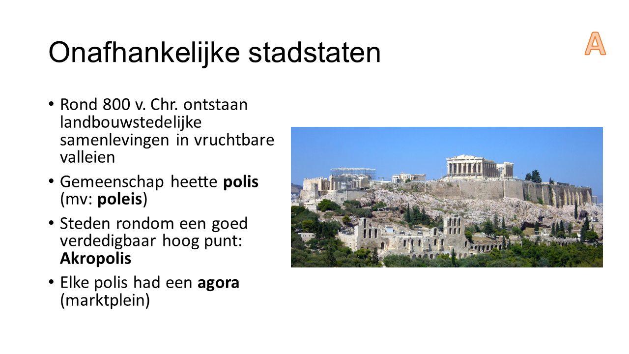 Onafhankelijke stadstaten