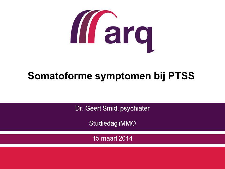 Somatoforme symptomen bij PTSS