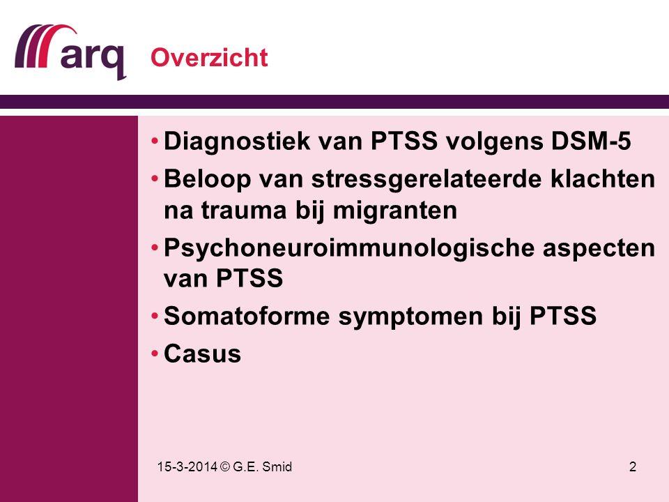 Diagnostiek van PTSS volgens DSM-5