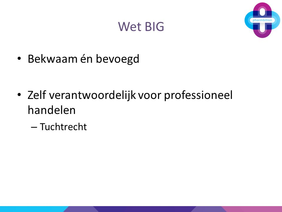 Wet BIG Bekwaam én bevoegd