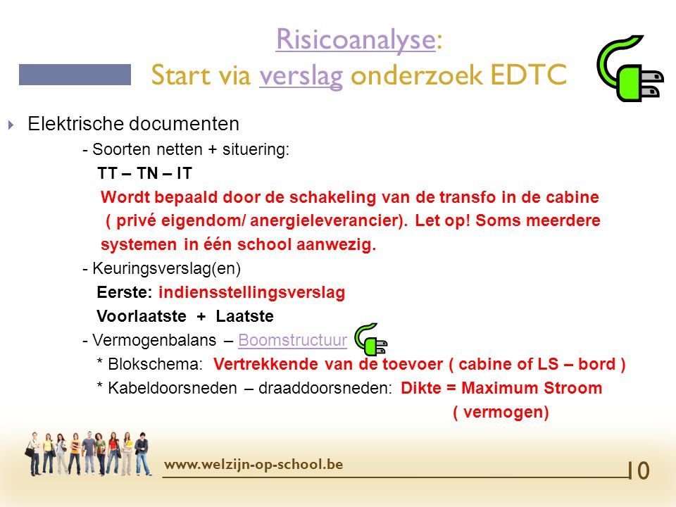 Risicoanalyse: Start via verslag onderzoek EDTC