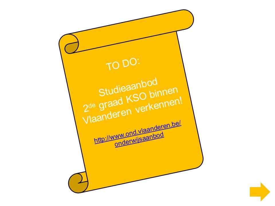 Studieaanbod 2de graad KSO binnen Vlaanderen verkennen!