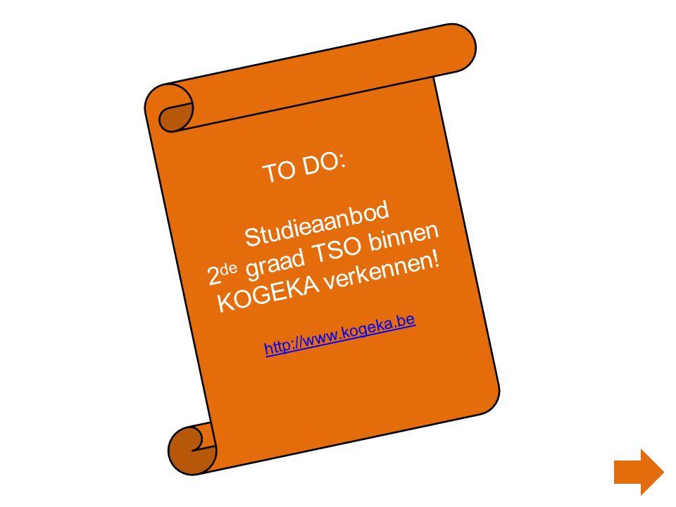 Studieaanbod 2de graad TSO binnen KOGEKA verkennen!