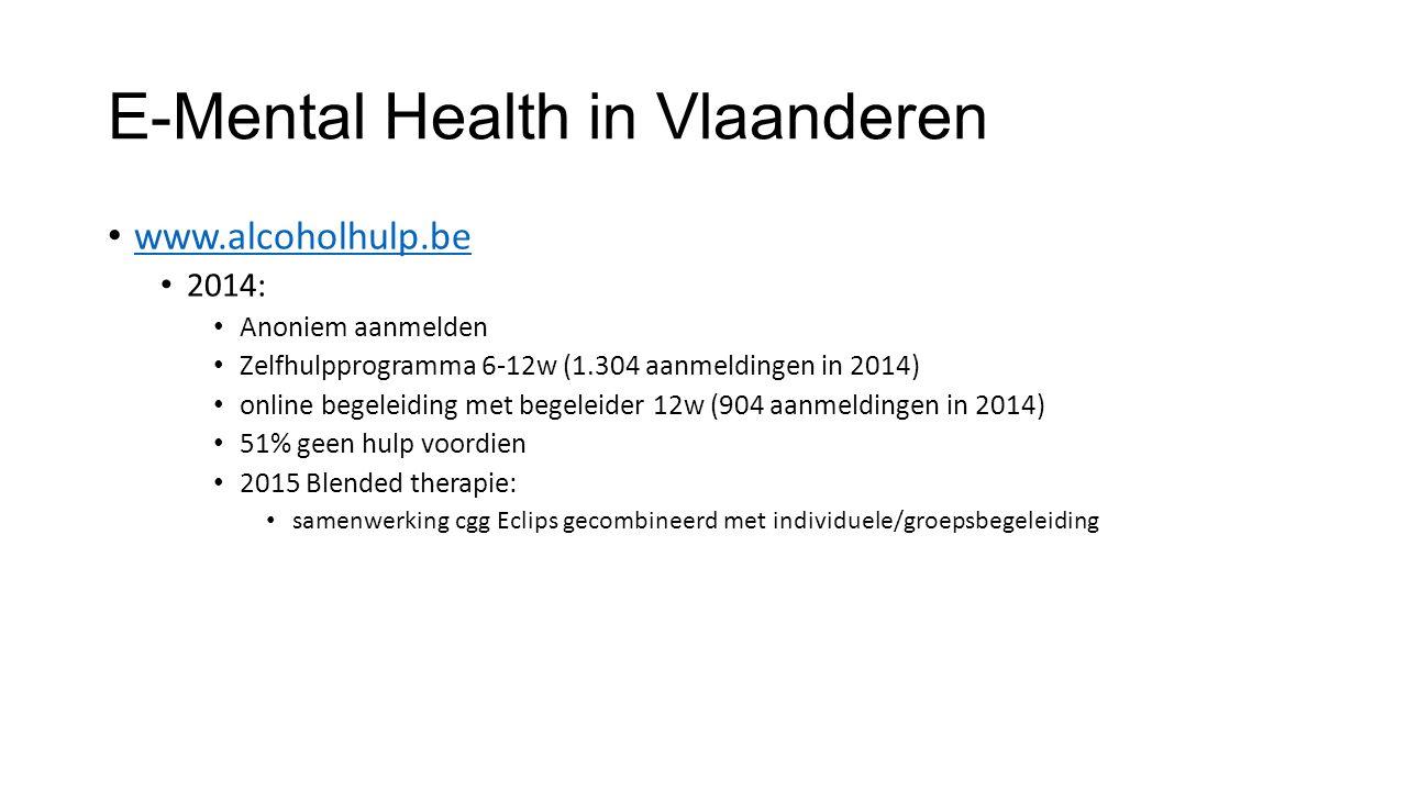 E-Mental Health in Vlaanderen