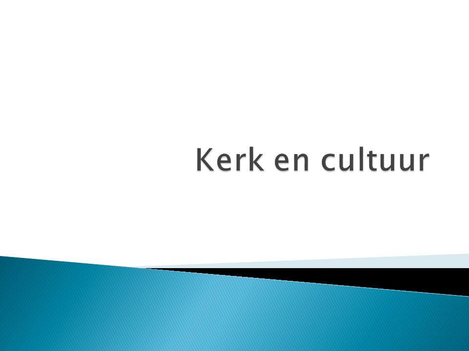 Kerk en cultuur