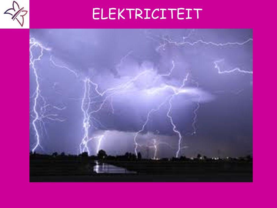 ELEKTRICITEIT A ELEKTROSTATICA B BEGRIPPEN C METEN