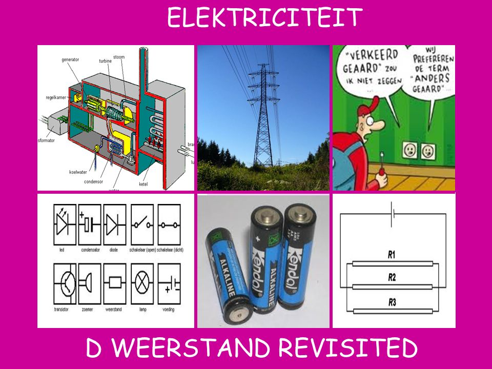 ELEKTRICITEIT Aat D Weerstand revisited