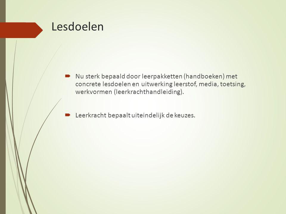 Lesdoelen