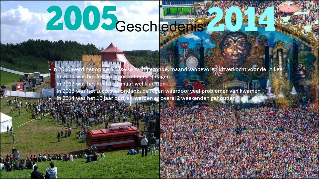 Geschiedenis - In 2010 werd het op de brusselse tv uitgezonde, maand van tevoren uitverkocht voor de 1e keer.